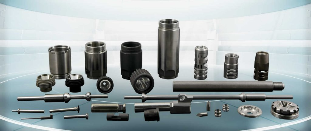 Firearms Parts by Swiss Automation, Inc.